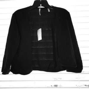 Black cotton cover up